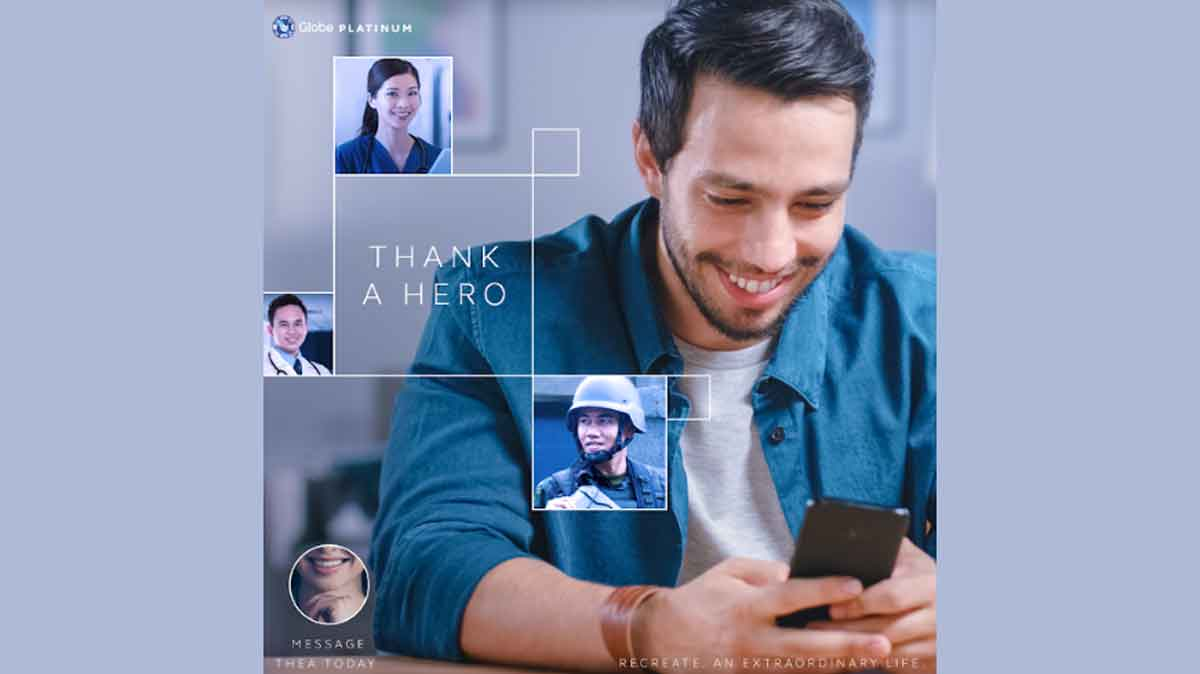 Globe Platinum Customers Send Tokens of Gratitude to  Frontliners