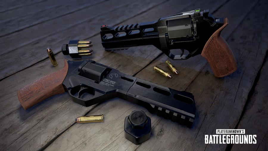 Nvidia Reveals Rendering of PUBG's Latest R45 Revolver