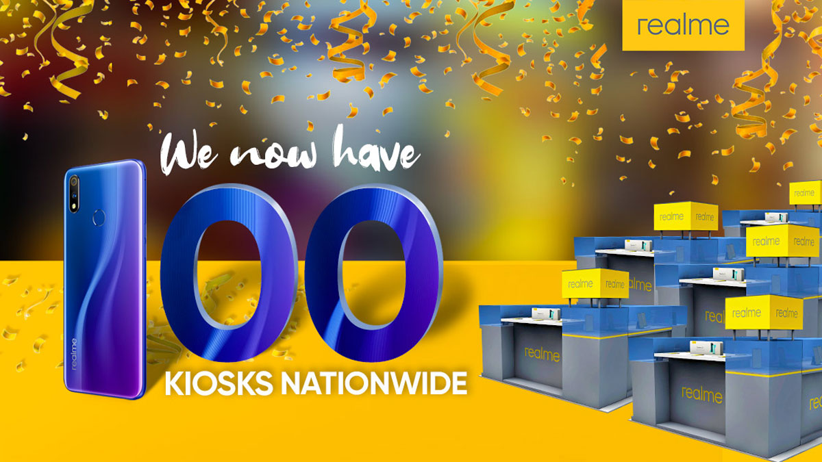 Realme Opens 100th Kiosk, Stream-for-a-Cause Event Soon
