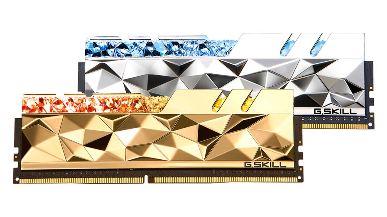 G.SKILL Releases Low-Latency Trident Z Royal Elite DDR4 Kits